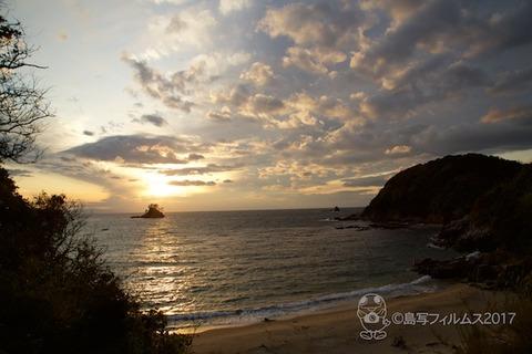 松島の夕日_2017-11-20_16-17-57