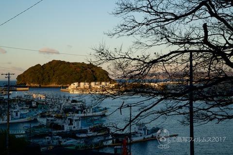 朝日_篠島前浜_富士山_2017-12-14 07-14-31