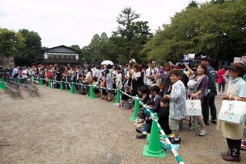 名古屋城篠島矢穴石式典_おもてなし武将隊_2012-09-23 12-59-28