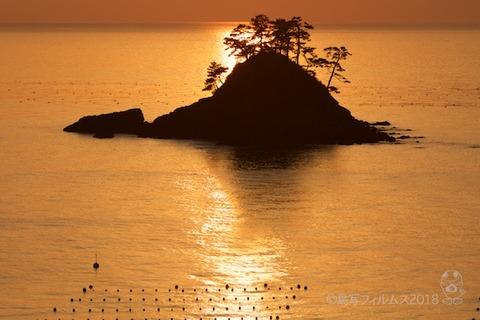 松島の夕日_歌碑公園_2018-02-09_17-06-25