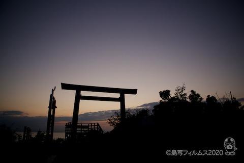 松島の夕日_鯨浜_2020-10-12_17-33-48