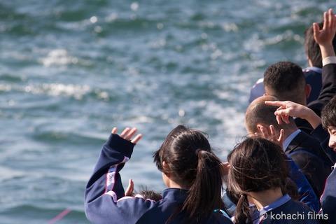 島写_篠島小学校_離任式_名鉄海上観光船_2011-04-20 15-31-52
