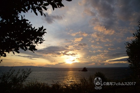 松島の夕日_2017-11-20_16-23-06