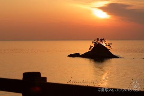 松島の夕日_歌碑公園_2018-02-09_17-09-55
