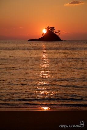 松島の夕日_汐味海岸_2020-12-22_16-32-50