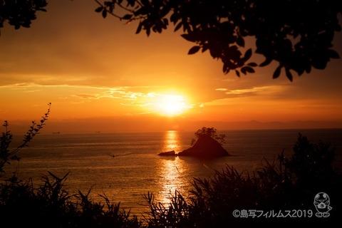 松島の夕日_歌碑公園_2019-11-07_16-35-07