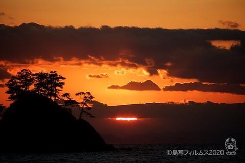 松島の夕日_汐味海岸_2020-12-21_16-38-43