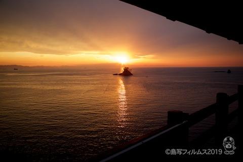 松島の夕日_歌碑公園_2019-11-07_16-35-46