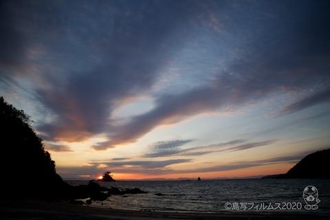 松島の夕日_鯨浜_2020-03-03_17-42-14