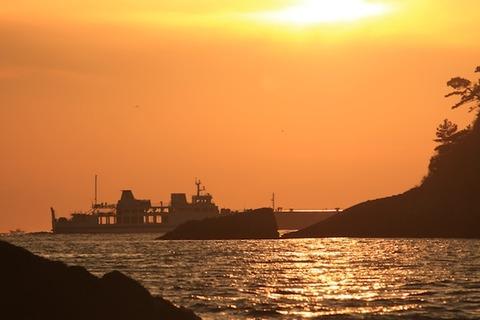 島写_松島の夕日2011-03-05 17-33-13