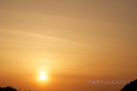 篠島漁港_夕日_漁船_#Silhouette_2013-03-19 17-41-35