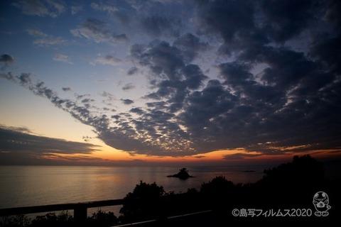 松島の夕日_歌碑公園_2020-11-06_17-12-37
