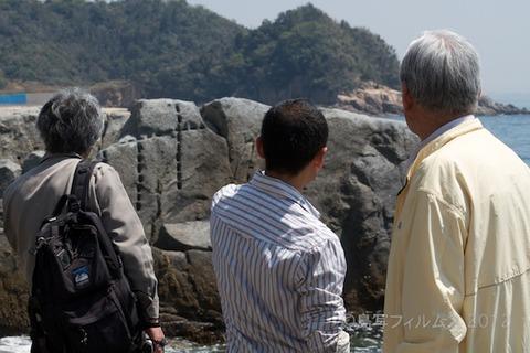矢穴石_枕石_名古屋城_視察_2012-04-18 12-26-49