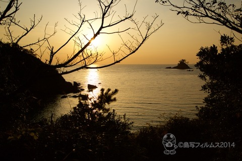 松島の夕日_歌碑公園_汐味_2014-12-10_16-08-17
