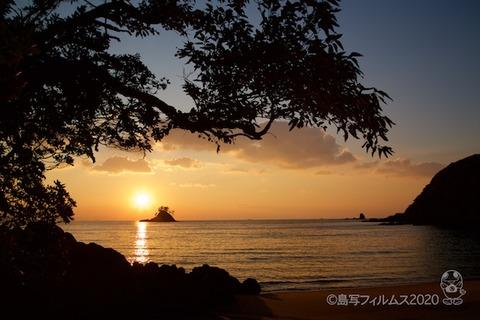 松島の夕日_汐味海岸_2020-12-22_16-23-28