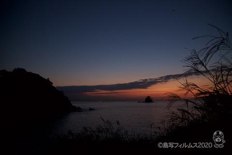 松島の夕日_鯨浜_2020-10-12_17-47-57