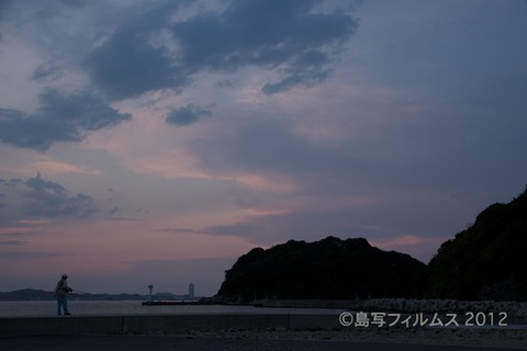 漁港_夕日_篠島_風景_写真_2012-05-05 18-26-02