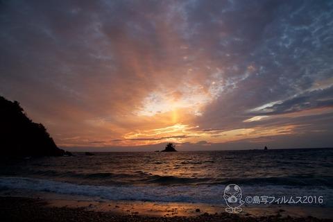 御幣鯛奉納祭_松島の夕日_2016-10-12 17-20-15