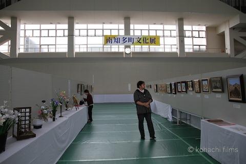 漁港の夕日_長瀬智也_ニシ汁_文化展_2011-10-21 15-23-19