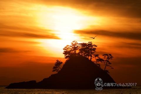 松島の夕日_2017-12-07_16-26-20