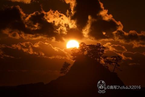 松島の夕日_汐味海岸_2016-12-16_16-29-41