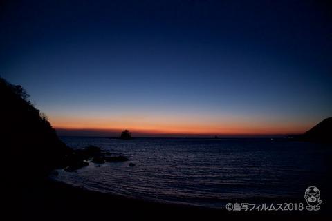松島の夕日_2018-02-26_18-15-44