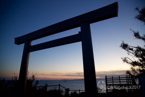 松島の夕日_2017-11-21_16-59-18