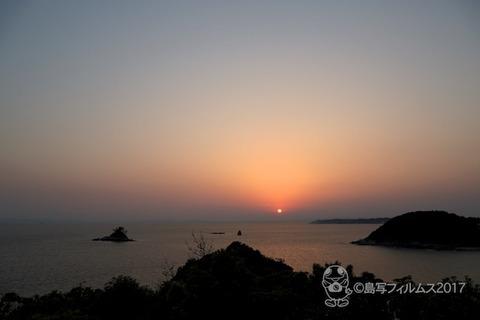 松島の夕日_キラキラ展望台_2017-05-29_18-44-17