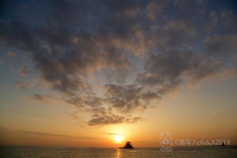 松島の夕日_歌碑公園_汐味_2014-12-10_16-23-34