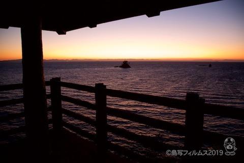 松島の夕日_歌碑公園_2019-11-06_17-10-29