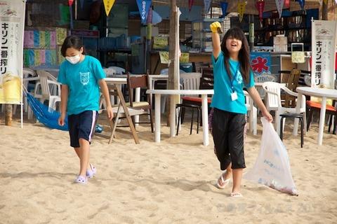 篠島ウミガメ隊クリーンアップ大作戦2012-07-25 07-48-31