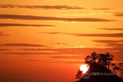 松島の夕日_汐味_2014-12-10_16-32-44
