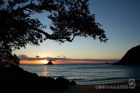 松島の夕日_汐味海岸_2020-12-21_16-28-53