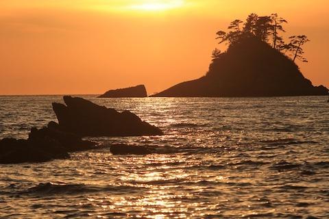 島写_松島の夕日2011-03-05 17-32-18
