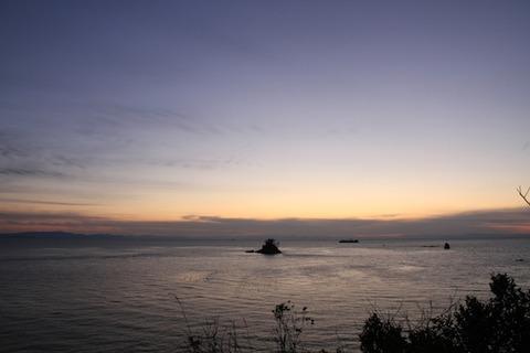 島写_松島の夕日2011-03-05 18-02-00
