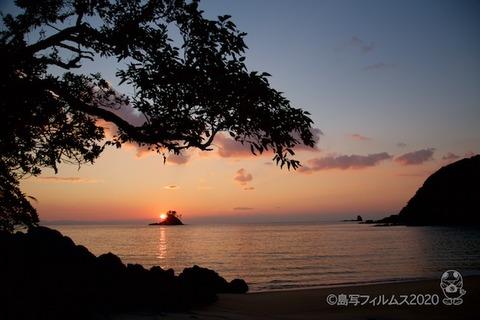 松島の夕日_汐味海岸_2020-12-22_16-34-59