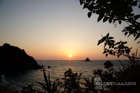 松島の夕日_鯨浜_歌碑公園_2016-11-06_16-37-47