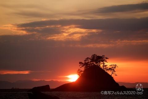 松島の夕日_鯨浜_2020-03-03_17-44-32