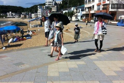 ウミガメ隊_クリーンアップ_#seaturtle_2012-08-06 11-38-57 (4)