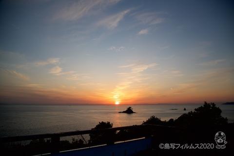 松島の夕日_鯨浜_2020-03-12_17-51-26