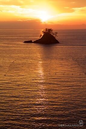 松島の夕日_歌碑公園_2019-11-07_16-36-12
