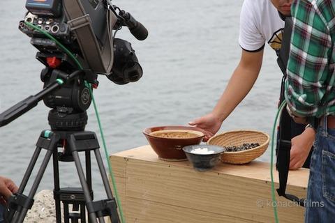 漁港の夕日_長瀬智也_ニシ汁_文化展_2011-10-21 10-48-23