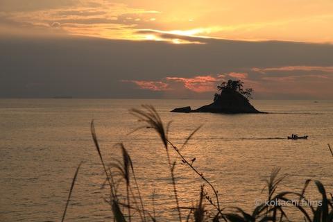 松島_夕日_篠島_風景_観光_ 鯨浜_2011-10-20 16-47-12
