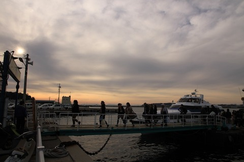島写_松島の夕日2011-03-05 16-31-30