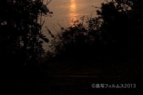 松島の夕日_歌碑公園_2013-02-14 17-18-19 (1)