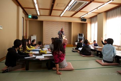 篠島観光協会_篠島小学校フグ実習_2011-11-15 08-53-31