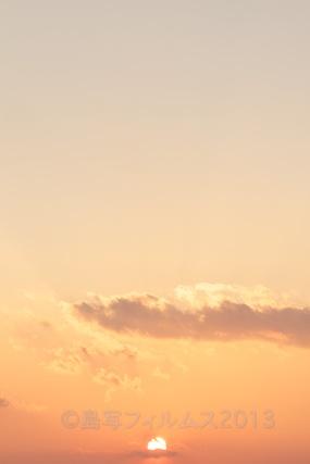 松島の夕日_歌碑公園_2013-02-22 17-26-32