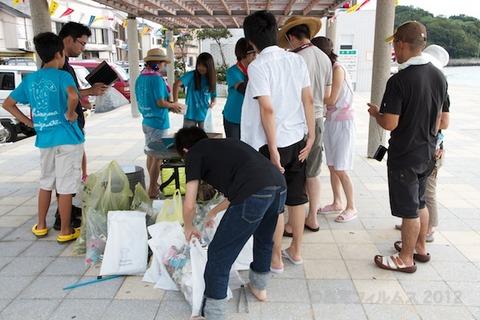 ウミガメ隊_クリーンアップ_2012-08-15 08-00-52