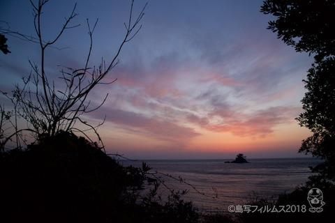 松島の夕日_歌碑公園_2018-02-20_17-41-18