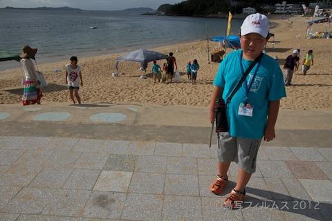 ウミガメ隊_クリーンアップ大作戦_2012-08-22 07-58-19